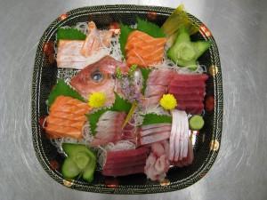 Sashimi Tray 2